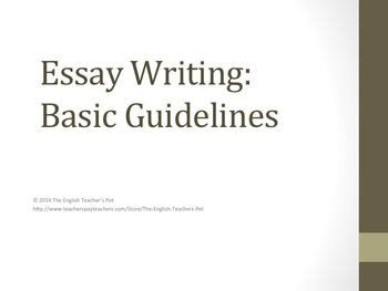 What is an Essay? - How to Write a Good Essay - LibGuides